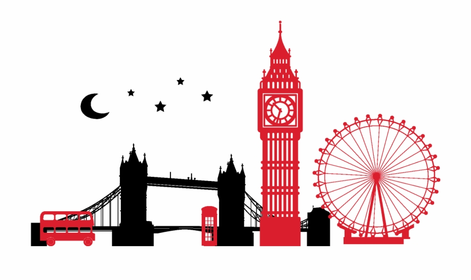 Banner Free City Silhouette Clipart.