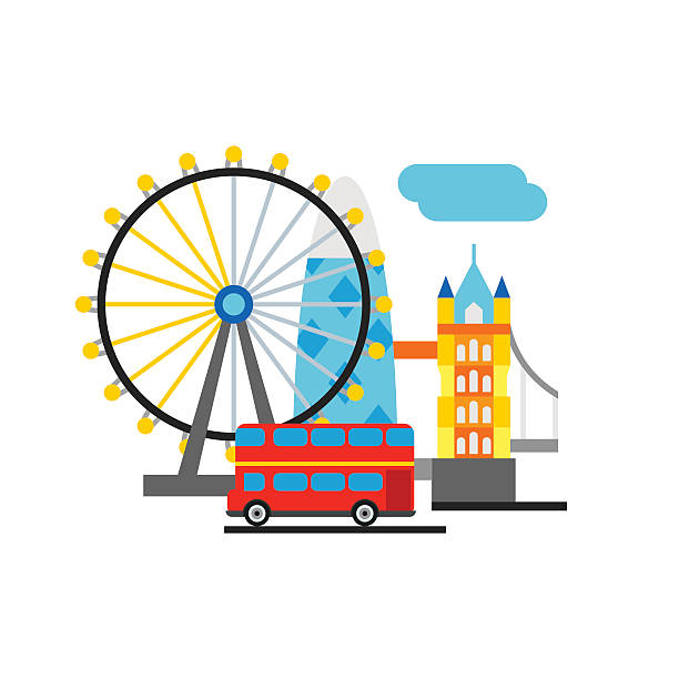 Best London Eye Illustrations, Royalty.