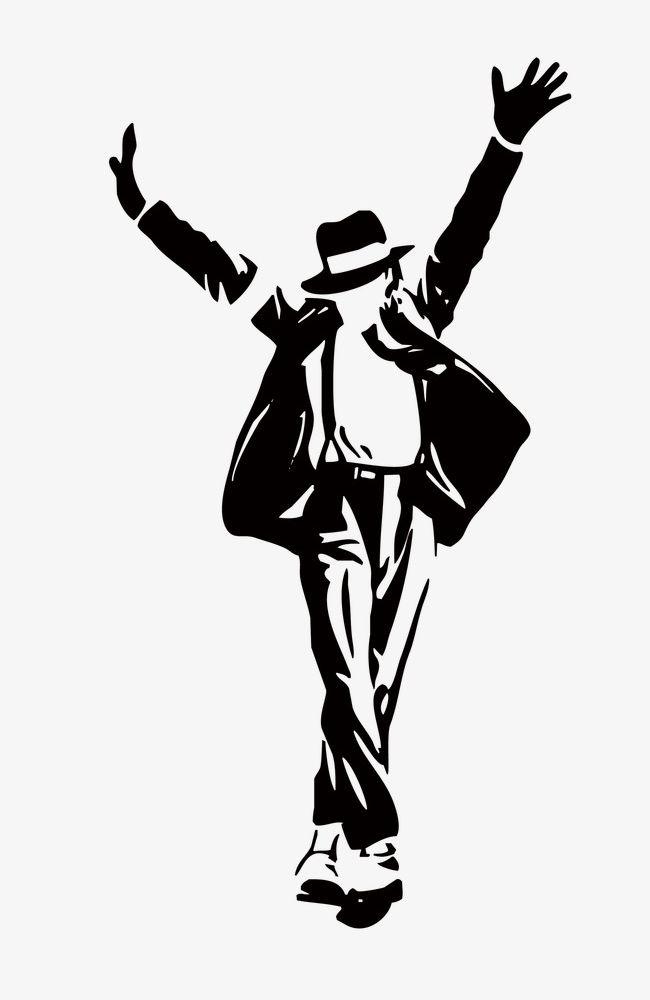 Michael Jackson Silhouette PNG, Clipart, Black, Figures, Jackson.