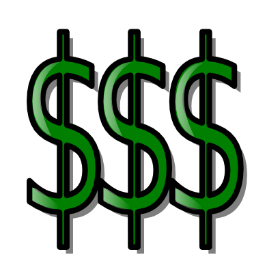 Free Clipart of Money.