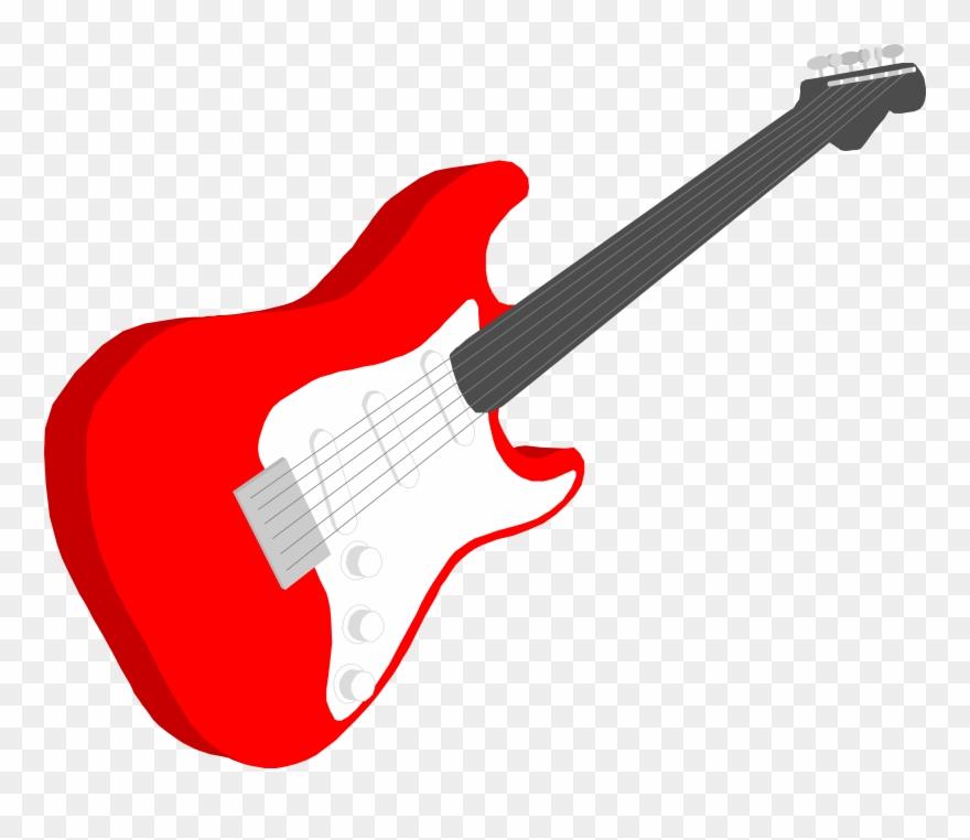 Bass Guitar Clipart Musical Instrument.