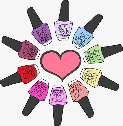 What Color Nail Polish, Color Clipart, Nail Clipart, Nail Polish PNG.