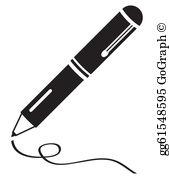 Writing Pen Clip Art.