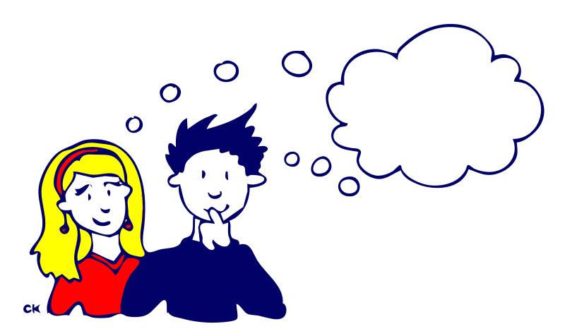 People Is Thinking Clipart & Clip Art Images #27153.