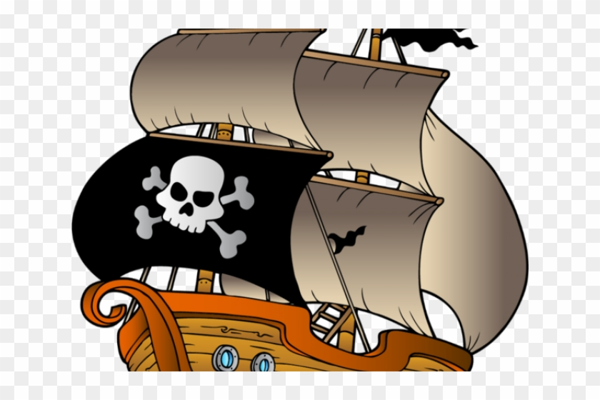 Pirates Of The Caribbean Clipart Pirate Ship.