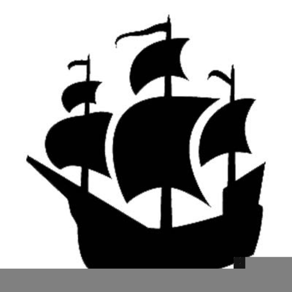 Clipart Of A Pirate Ship.