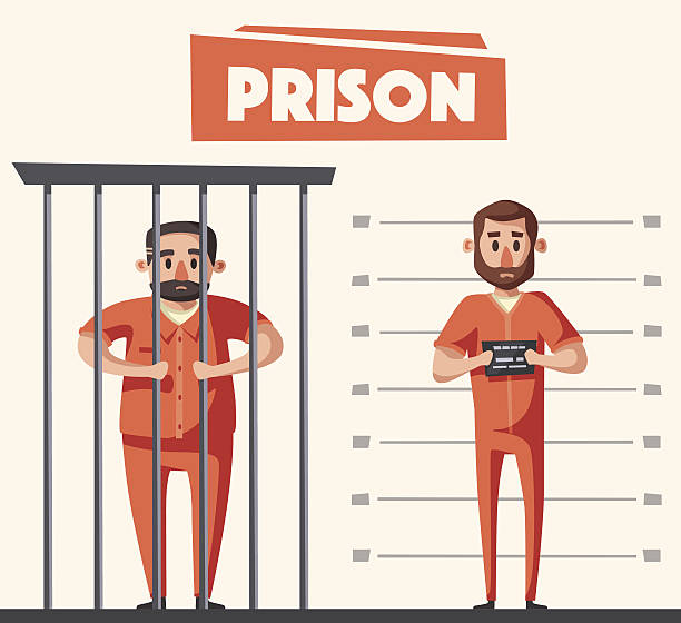 Best Prisoner Illustrations, Royalty.