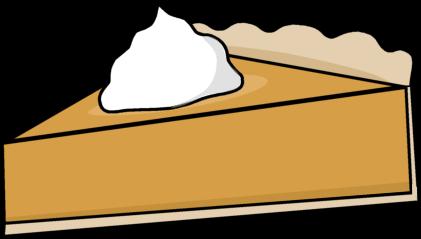 Pumpkin Pie Slice Clip Art.