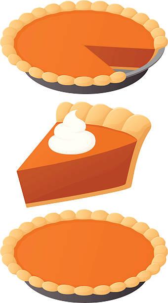 Best Pumpkin Pie Illustrations, Royalty.