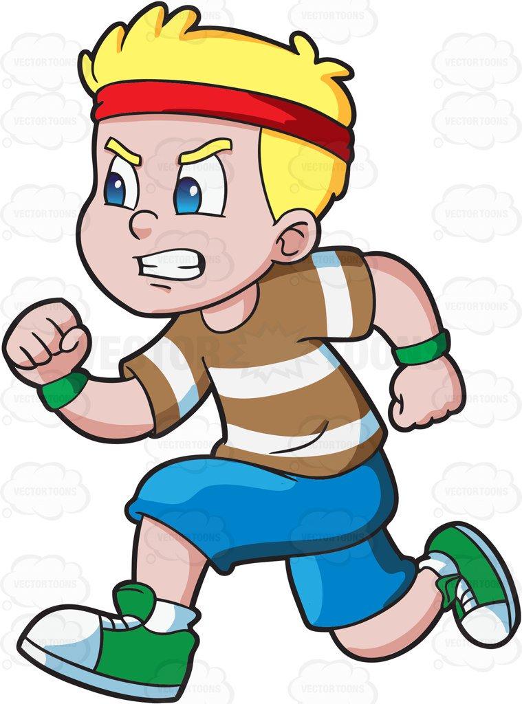 Kid Running Clipart.