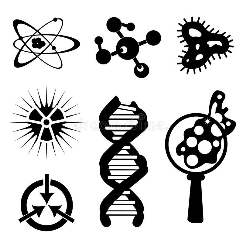 Science Stuff Stock Illustrations.