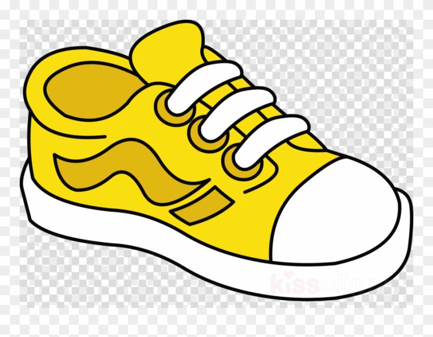 Download Shoe Clipart Sneakers Shoe Clip Art Yellow.