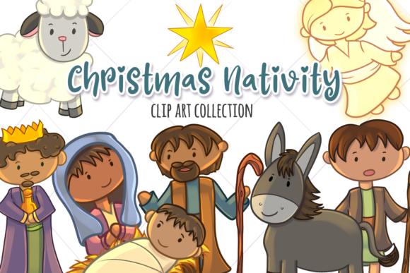 Christmas Nativity Clip Art Collection.