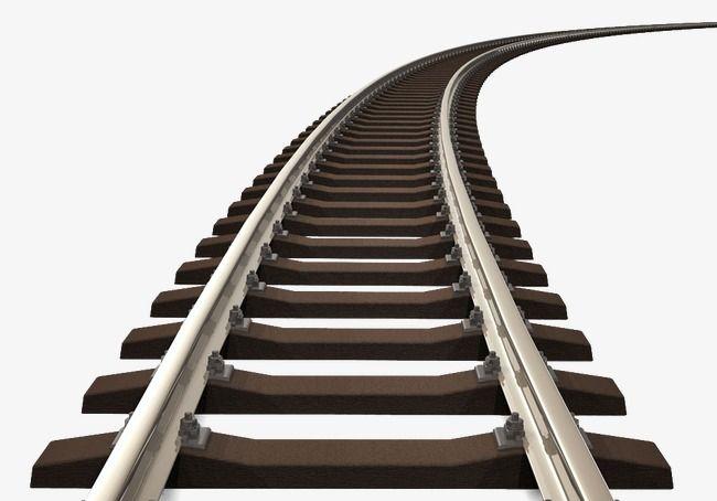 Railroad Rail Track, Railway, Rail, Track PNG Transparent Clipart.