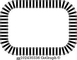 Railroad Track Clip Art.