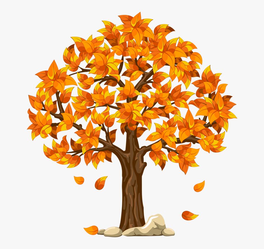 Fall Clipart Autumn Scene.