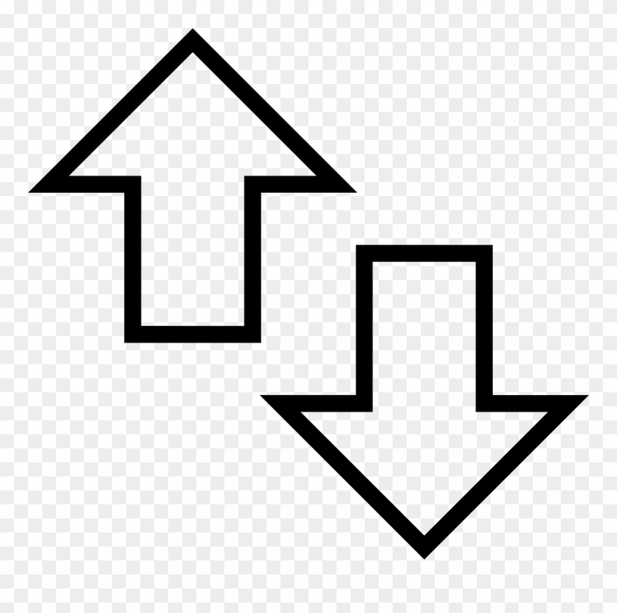 Up And Down Arrows Comments.
