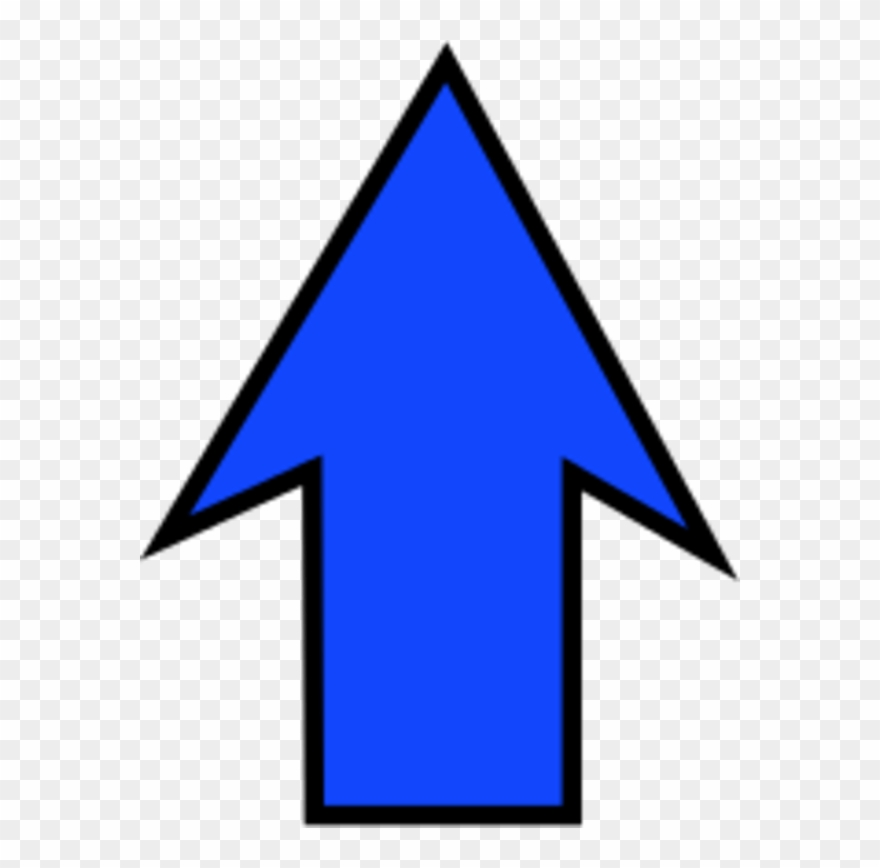 Free Clipart Arrow Pointing Up.