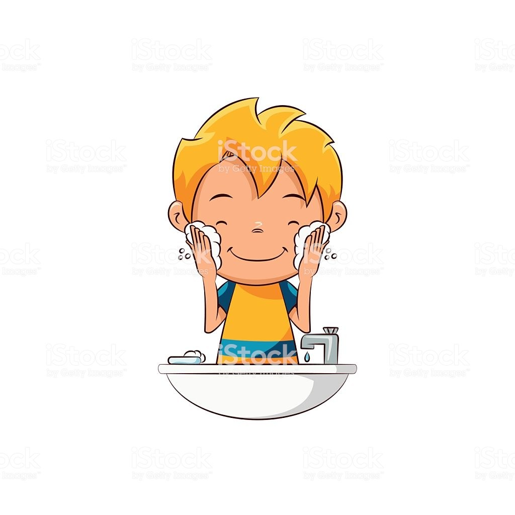 Wash hands and face clipart 7 » Clipart Portal.
