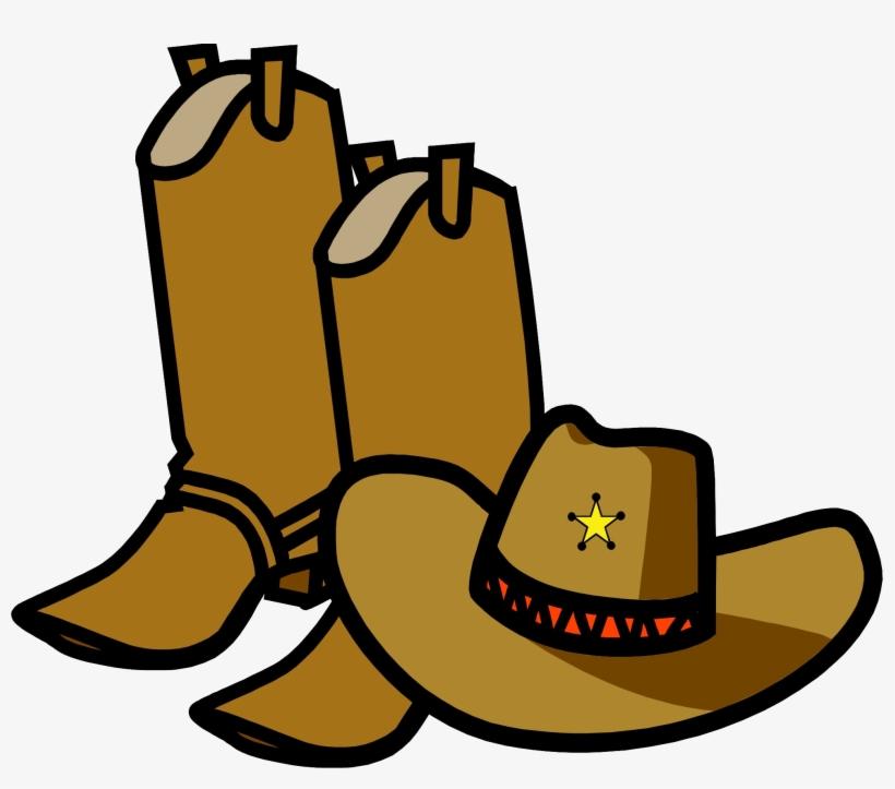 Cowboy Boots Clip Art Transparent.