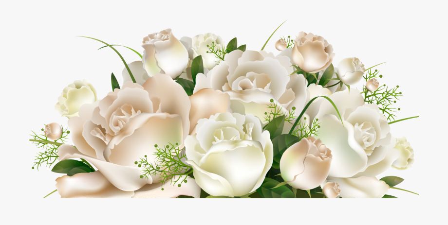 Roses Decoration Clipart Picture.