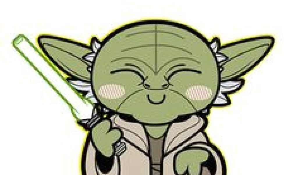Collection of Yoda clipart.
