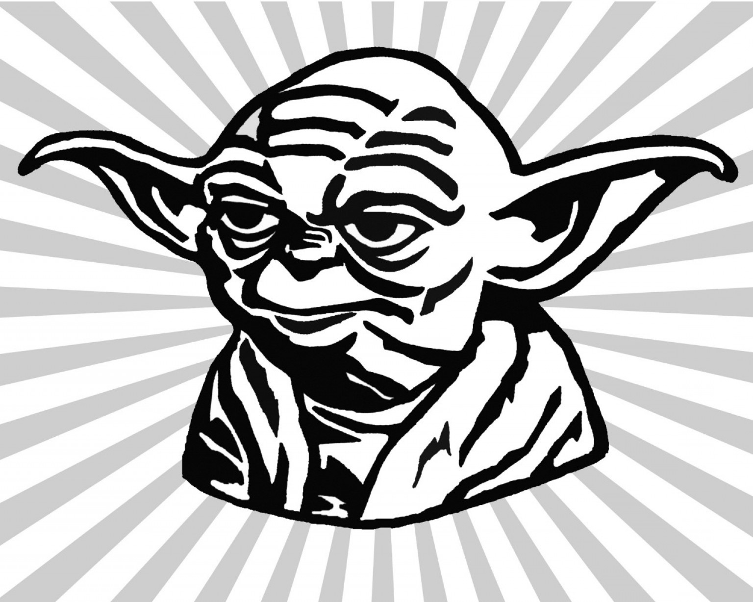 Chic Design Yoda Clipart Cartoon Vector Art Graphics Freevector Com.