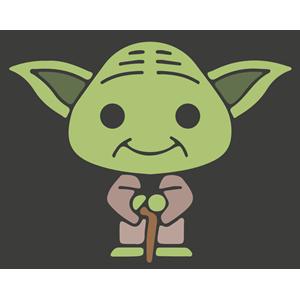 Yoda clipart, cliparts of Yoda free download (wmf, eps, emf, svg.