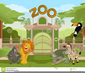 Animated Clipart Zoo Animals.