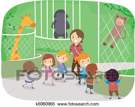 People At The Zoo Clipart & Free Clip Art Images #22959.