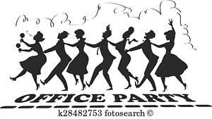 Office Party Clip Art.