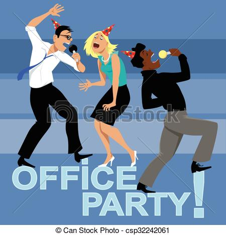 Office party Vector Clip Art Illustrations. 6,877 Office party.