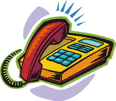 Telephone clip art free clipart images 8.