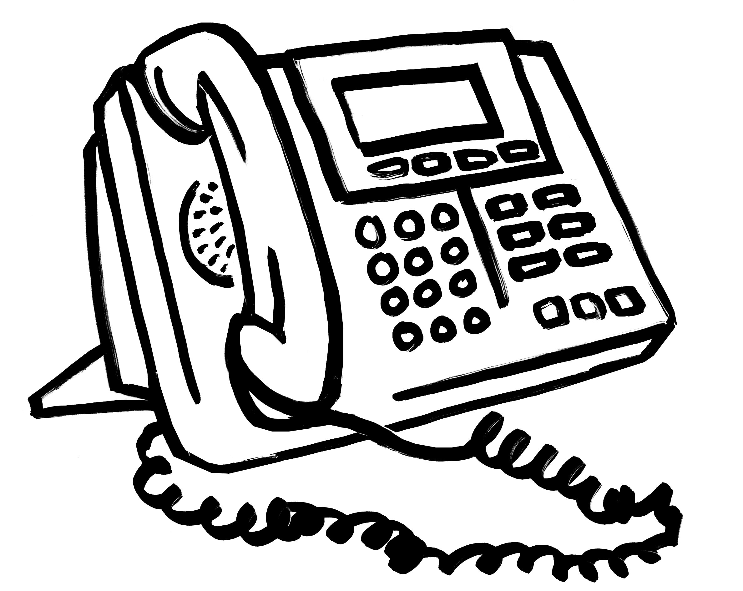 Office Phone Call free clipart.