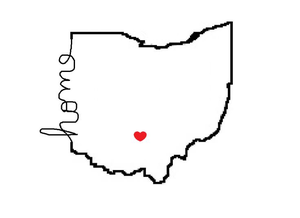 State Of Ohio Clipart.
