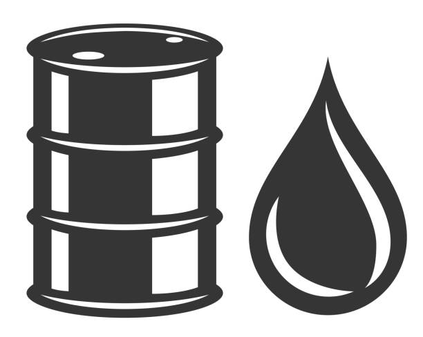 Best Oil Drum Illustrations, Royalty.