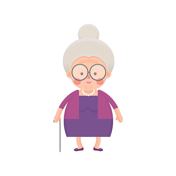 Clipart old lady 1 » Clipart Station.