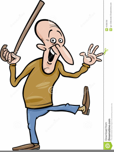 Free Clipart Old Man With Cane.