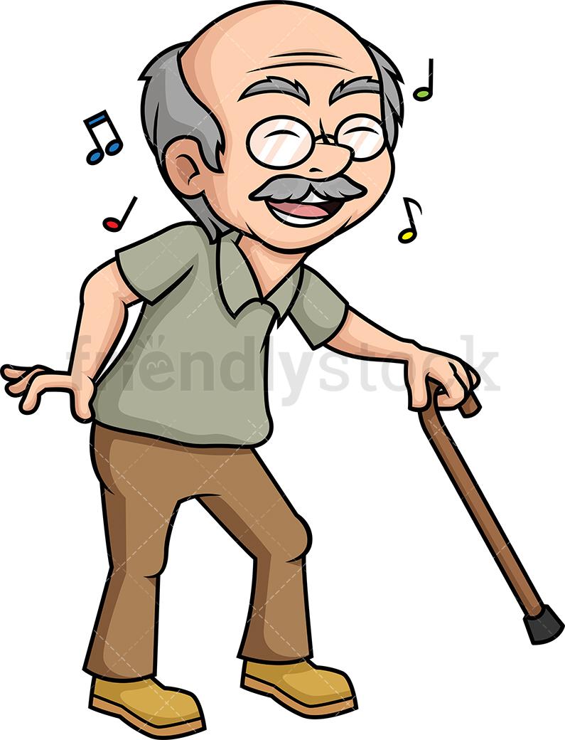 Old Man Dancing.