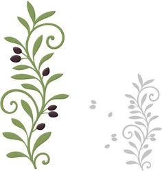 Branch Border Clip Art.
