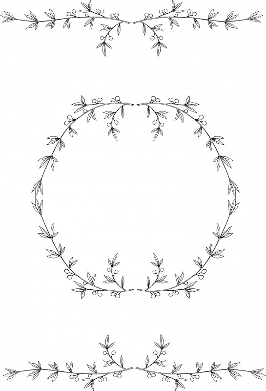 Free Olive Wreath Clip art & Stock Vector.