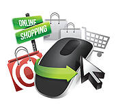 Shopping Clip Art EPS Images. 172,551 shopping clipart vector.