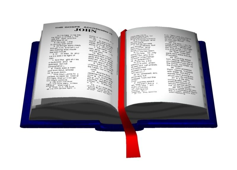 27+ Open Bible Clip Art.