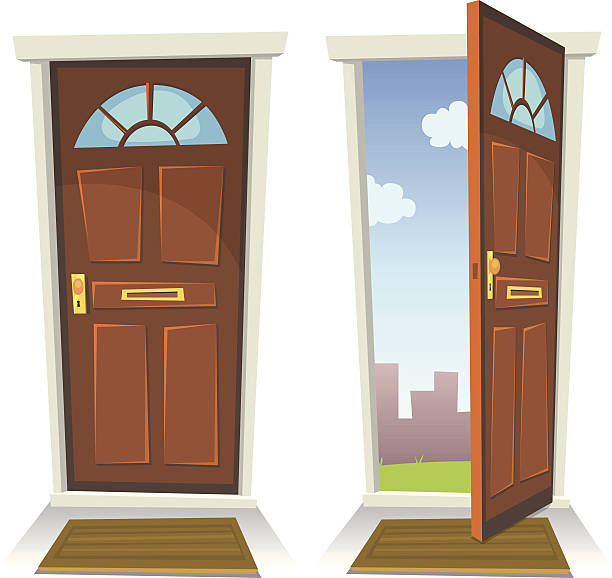 Top 60 Open Door Clip Art, Vector Graphics and Illustrations.