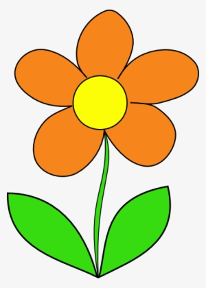 Orange Flower PNG Images.