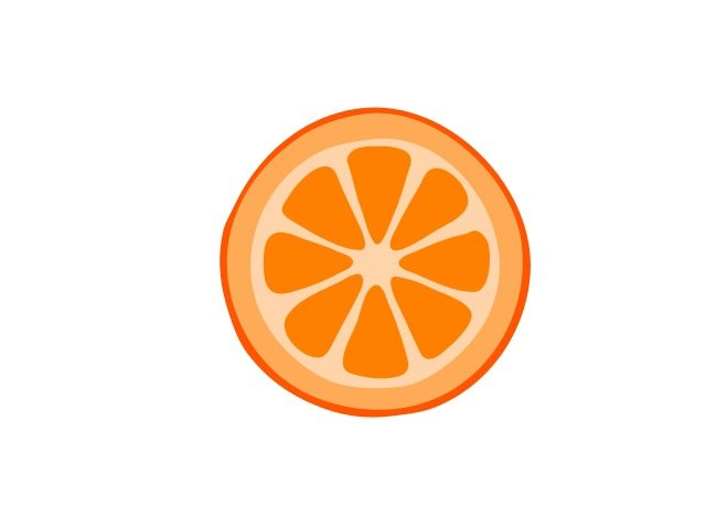 Showing Gallery For Clipart Orange Slice free image.