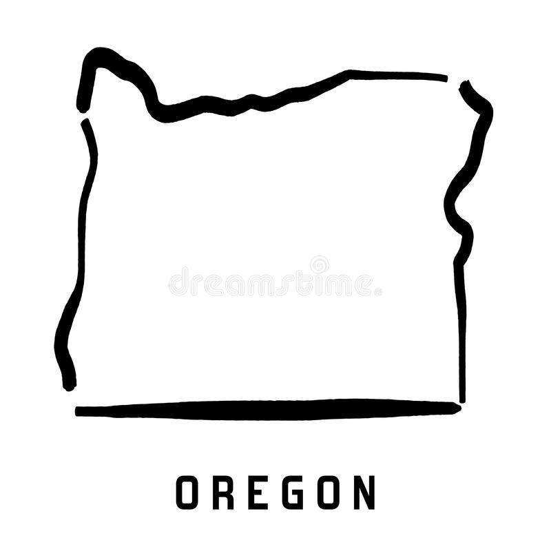 Oregon Stock Illustrations.