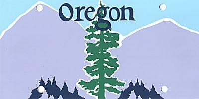 state of oregon clipart.