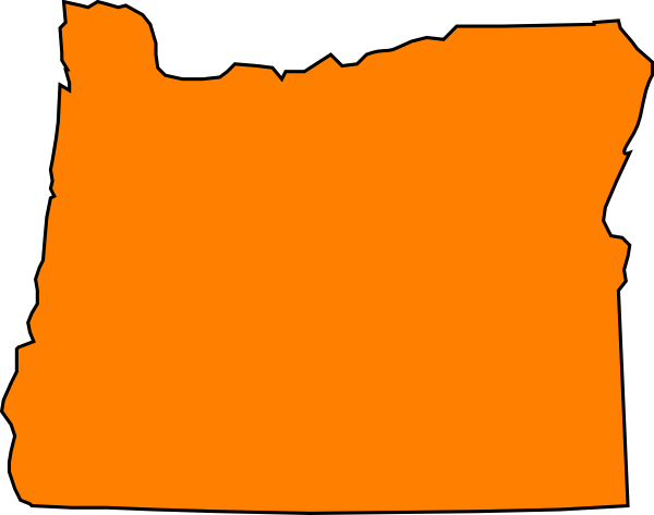 Orange Oregon Clip Art at Clker.com.