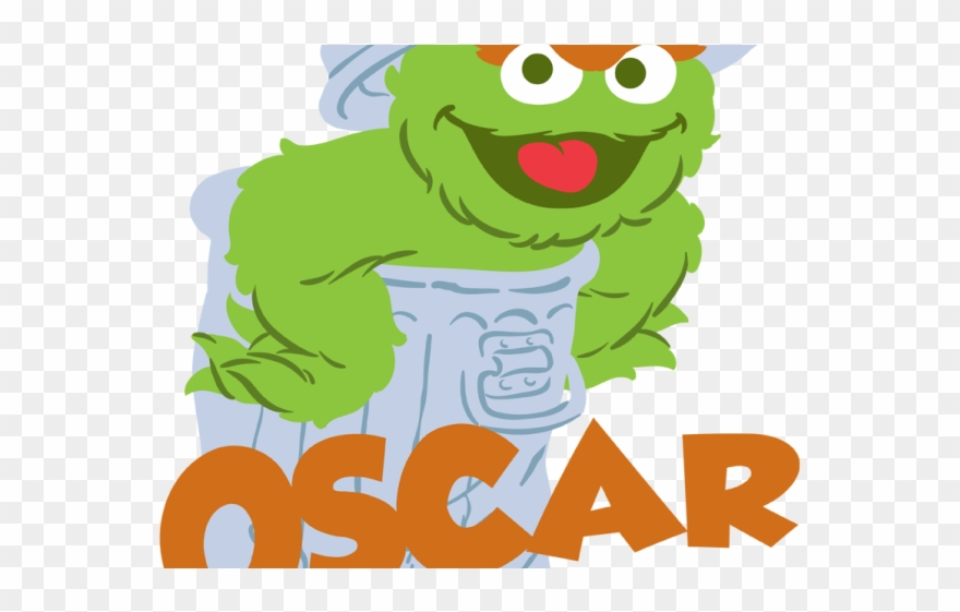 Oscar The Grouch Clipart Transparent.